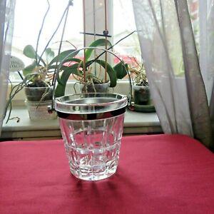 Bucket To Ice Cube Tray cristal de lorraine Signed