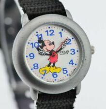 H531 Vintage Disney Mickey Mouse Lorus Quartz Watch Y121-X080 JDM 1.1
