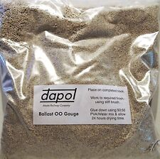 Dapol 4S-000-004 - 00 Gauge Real Crushed Limestone Type Ballast 1.5kg Bag T48 Po