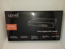 UPVEL 5-Port Gigabit Ethernet PoE+ Switch, UP- 225GE (Brand New)