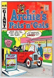Archie's Pal 'n' Gals #40 Featuring Pureheart, Good Condition