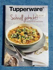 Tupperware Rezeptheft Kochbuch Rezepte Rarität Schnell gekocht für Mikrowelle