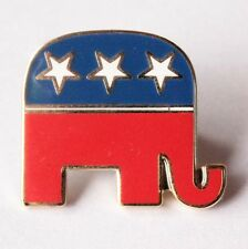HOT! REPUBLICAN ELEPHANT PIN Political Party Metal 2016 ELECTION DDH22