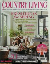 Country Living British Edition March 2016 Fresh Ideas Spring FREE SHIPPING sb