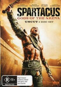 Spartacus: Gods Of The Arena   DVD Region 4 (PAL) (Australia) Free Post