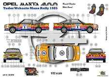 [FFSMC Productions]  Decals 1/32 Opel Mantal 400 n°5 Tudor Webasto Manx Rally 85