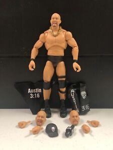 WWE Mattel Stone Cold Steve Austin Ultimate Edition Elite Series #9 figure loose