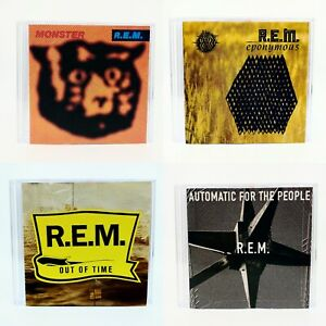 4 CD LOT | R.E.M.: Monster + Automatic... + Out of Time + Eponymous | *MINT *