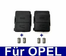 2x Schlüssel Gehäuse Abdeckung für OPEL MERIVA CORSA C COMBO ASTRA + 4xTaster