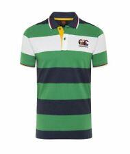 Canterbury Men's Uglies Stripe Polo - Emerald - Sizes Small to 4XL