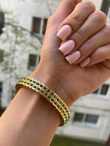 Handmade Jewellery gift for girlfriend Sweet 16 Teen Bracelet Bangle Jewelry 24k