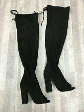 STEVE MADDEN Women's Elliana Over the Knee Boot Color Black Size: 7 M