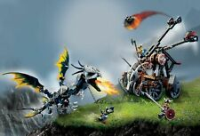 Lego 7021 Viking Double Catapult vs.Armoured Ofnir Dragon 5% Discount Multi-Buy