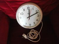 Smiths Delhi 230v Wall Clock