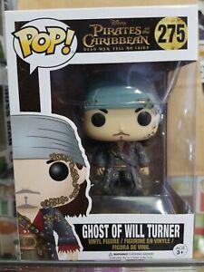 Ghost of Will Turner Disney Pirates of the Caribbean funko Pop! Box #275 Disney