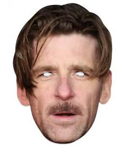 Paul Anderson Celebrity 2D Card Party Face Mask - Fancy Dress Up