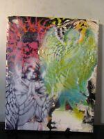 angel graffiti original abstract painting on canvas 8x10 by musk yai 2018