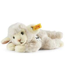 STEIFF Little friend Floppy Linda Lamb White Lying baby gift 22cm EAN 280030 NEW