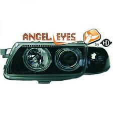 Scheinwerfer Set für Opel Astra F 94-98 Klarglas/Schwarz H1+H1