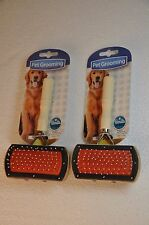 2 Double Sided Pet Brush Comb Grooming Dog Shedding 4 inch FREE SHIP from the US