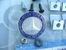 ORIGINALE Mercedes w126 Griglia Anteriore Kit Riparazione con emblema m5! NOS!