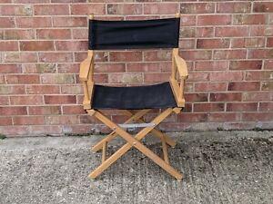 Vintage Directors Chair Black