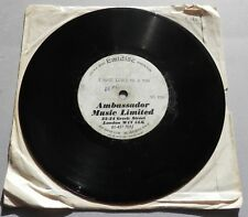 "Morgana King - I Have Loved Me A Man UK 1967 Emidisc 7"" Acetate"