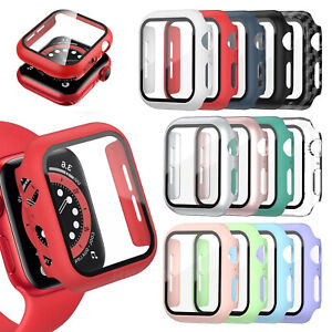 For Apple Watch Case Screen Protector Series 3/4/5/6/SE Full Protective Cover