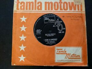 Who Could Ever Doubt My Love, Supremes, UK Tamla Motown Tmg 543.