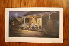 Traditions James Lumbers Open Collectors Edition Print Police OPP