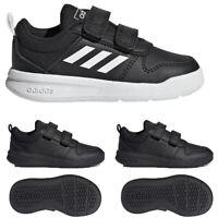 Adidas Boys Kids Shoes Tensaurus Strap Trainers School Sports Black