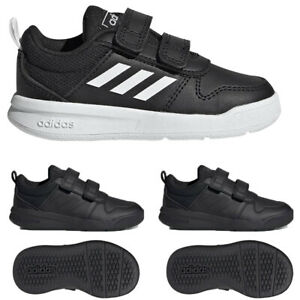 Adidas Boys Kids Shoes Tensaurus Strap Trainers School Sports Black