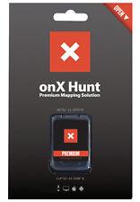OnX Premium Maps GPS Chip with Landowners & Property Boundaries for Garmin