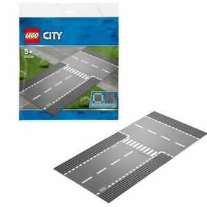 LEGO 60236 City Straight & T-Junction Road Baseplates Retired New & Sealed
