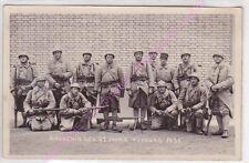 72470 CHAMPAGNE RPPC CARTE PHOTO MILITARIA AUVOURS Souvenir des 21 jours 1931