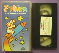 VHS Film Ita Animazione PIMPA E LA STELLA CADENTE Rai Trade 6 Episodi no dvd(V42