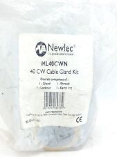 NEWLEC  NL40CWN 40CW CABLE GLAND KIT  (F286)
