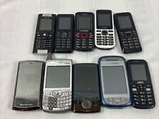 Lot of 10 Cellphones - Parts Or Repair - Cell Phones Clean Imei - Free Shipping