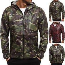 Hip Length Polyester Spring Coats & Jackets for Men
