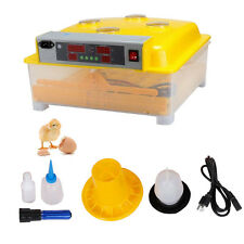 56 Eggs Digital Incubator Hatcher Chicken Eggs Hatching Lab Science Equipment