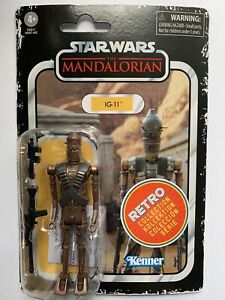 Star Wars Retro Collection. The Mandalorian. IG-11. New