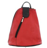 Small Leather Backpack/Rucksack/Shoulder Handbag in a choice of colours (F264S)