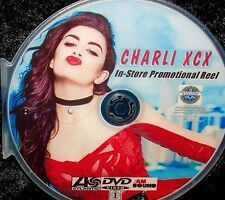CHARLIE XCX In-Store Promotional Music Video Reel DVD 24 Videos FREE SHIP