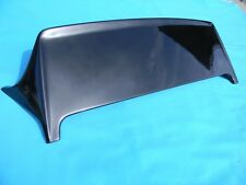BLACK FIBER GLASS SPOILER FITS 88-91 CIVIC HB J STYLE 3 DOOR EF9
