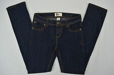 SO Junior Womens Skinny Denim Dark Blue Jeans size 5 Average