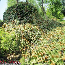 Outdoor Woodland Leaves Camouflage Camo Net For Hunting Camping Military 2Mx3M