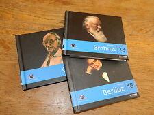 LOT 3 CD MUSIQUE CLASSIQUE le FIGARO COLLECTION 18-20-23 orff BERLIOZ brahms