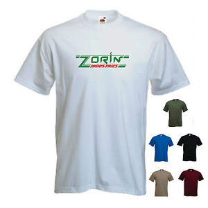 'Zorin Industries' A View to a Kill James Bond Movie Funny T-shirt Tee