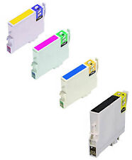 WE1300  4 CARTUCCE COMPATIBILI Multipack x Epson T1301 T1302 T1303 T1304 T1306