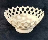 "Vintage Westmoreland  Atterbury Milk Glass  8 ½"" Bowl ""Doric"" ""Dancing Sailors"""